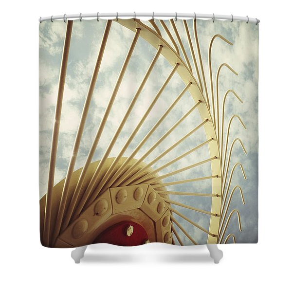 Agricultural Art Shower Curtain