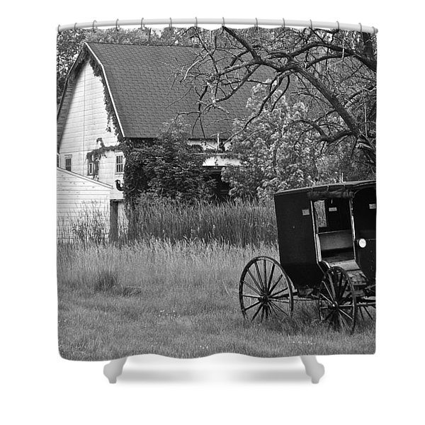 Amish Living Shower Curtain