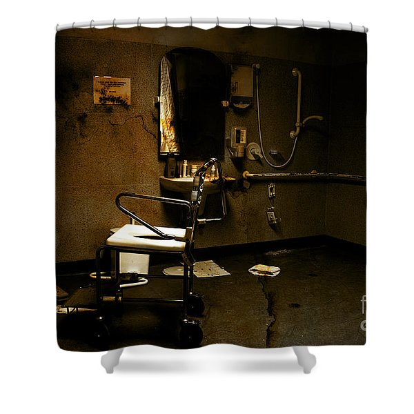 Amputation House Shower Curtain