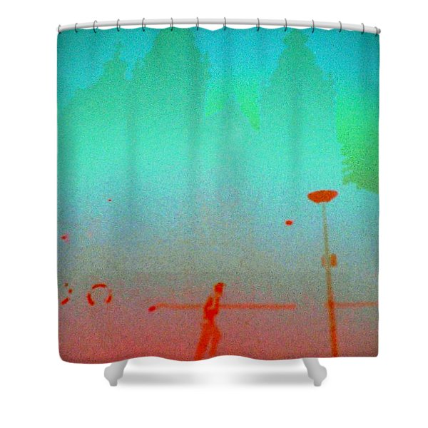Amsterdam Evening Shower Curtain