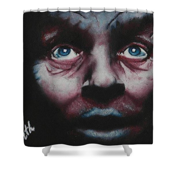 Anthony Hopkins Shower Curtain