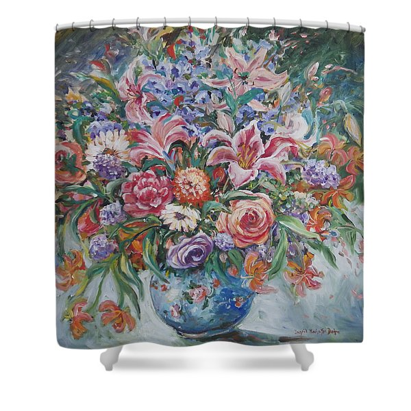 Arrangement II Shower Curtain