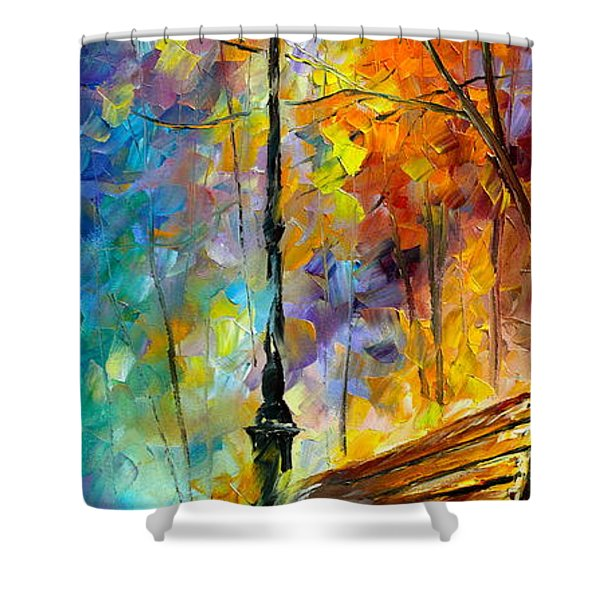 Aura Of Autumn 2 Shower Curtain