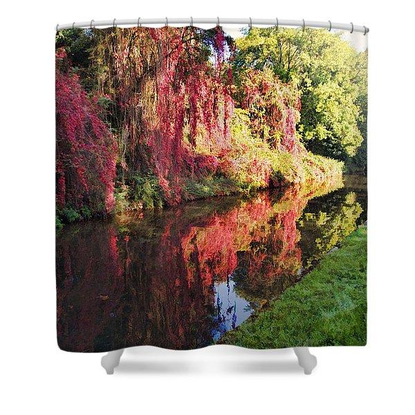 Autumn Colours Shower Curtain