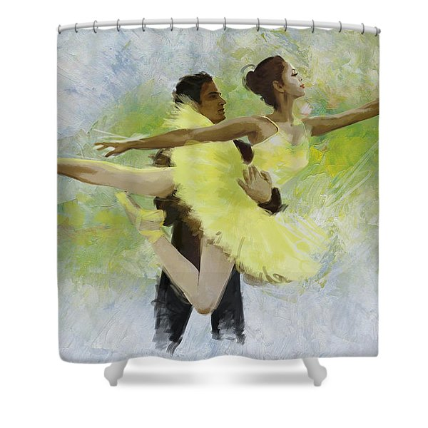 Belly Dancers Shower Curtain