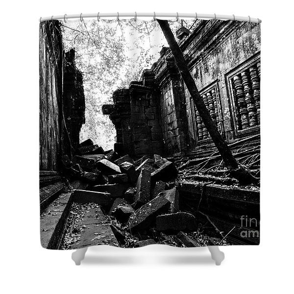 Beng Mealea Shower Curtain