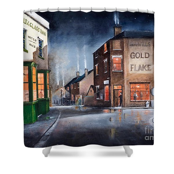 Black Country Village Centre Shower Curtain