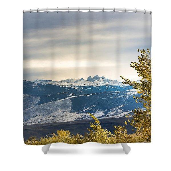 Blacktooth Shower Curtain