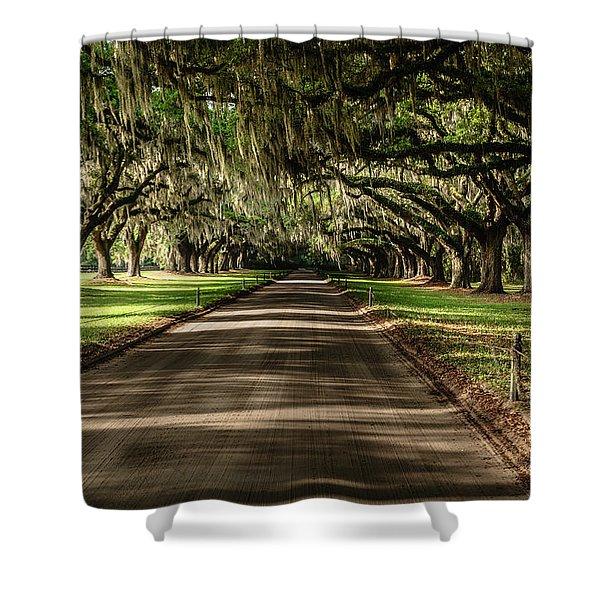Boone Plantation Road Shower Curtain