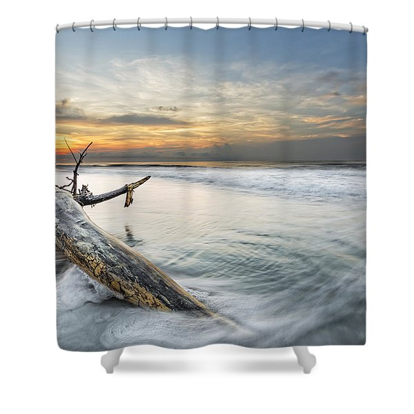Bough In Ocean Shower Curtain