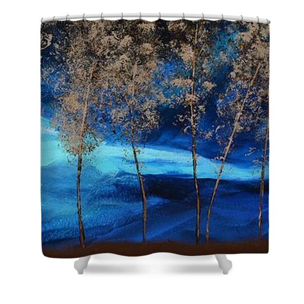 Brewing Storm Shower Curtain