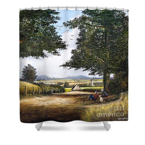 Bromyard Downs Shower Curtain