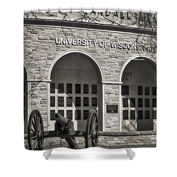 Camp Randall - Madison Shower Curtain