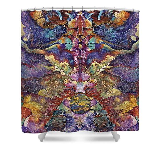 Carnaval Shower Curtain