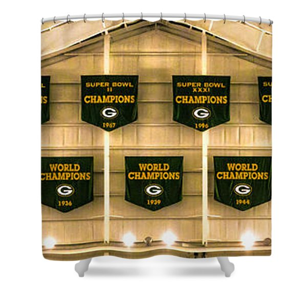 Championship Banners Shower Curtain