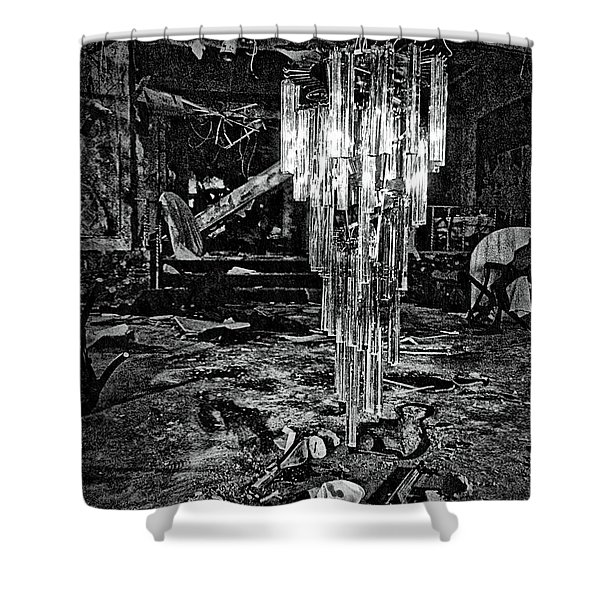 Chandelier Shower Curtain