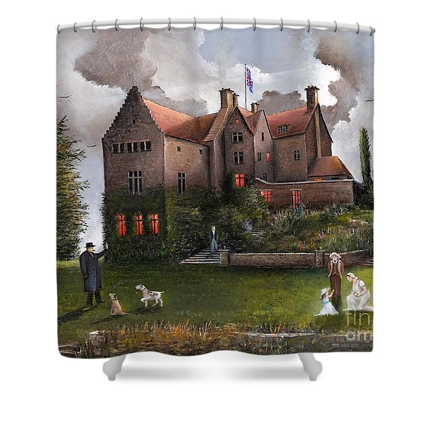 Chartwell Shower Curtain