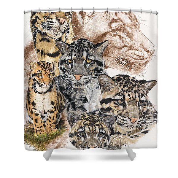 Cloudburst Shower Curtain