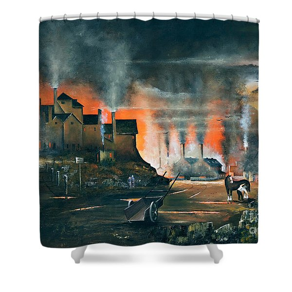 Coalbrookdale Shower Curtain