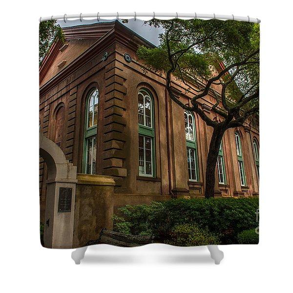 College Of Charleston Campus Shower Curtain