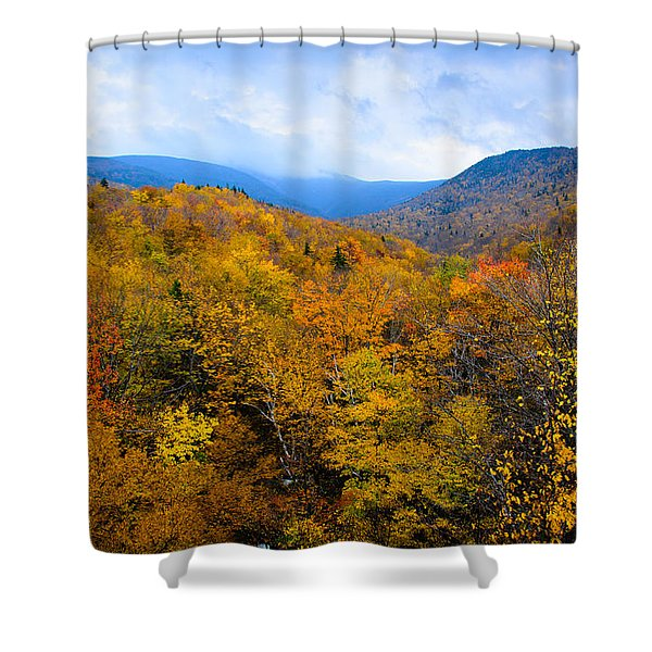 Colors Of Nature Shower Curtain