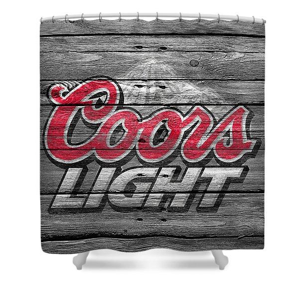 Coors Light Shower Curtain
