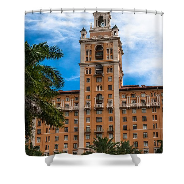 Coral Gables Biltmore Hotel Shower Curtain