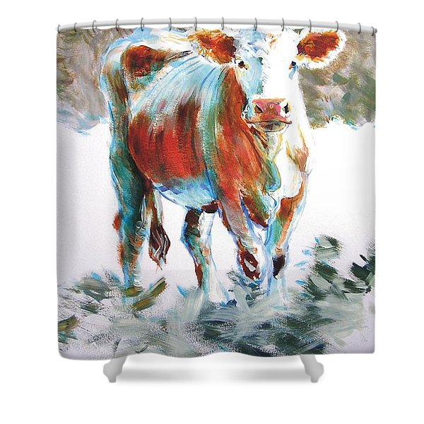 Cow Shower Curtain