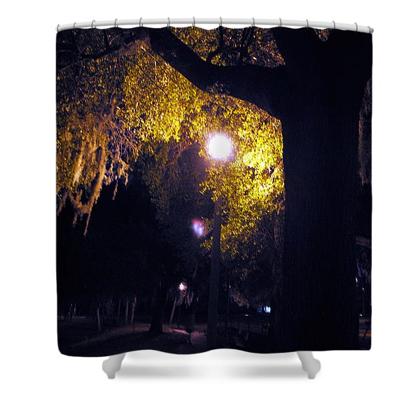 Davenport At Night Shower Curtain