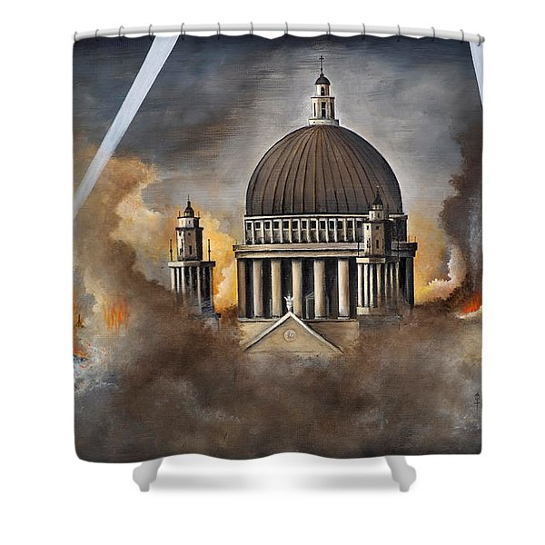Defiance Shower Curtain