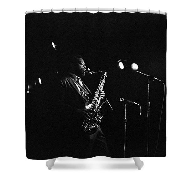 Dewey Redman Shower Curtain