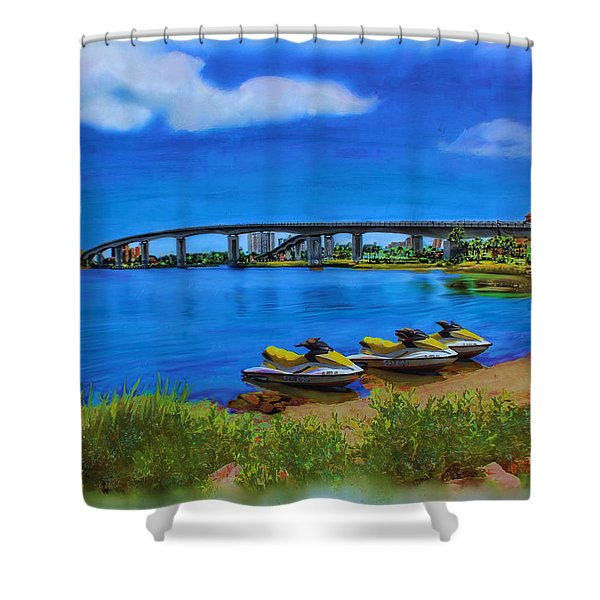 Do You Sea Doo Shower Curtain