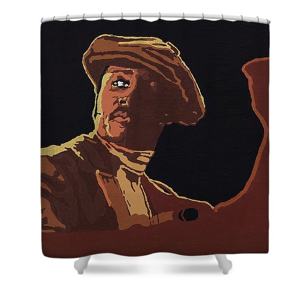 Donny Hathaway Shower Curtain