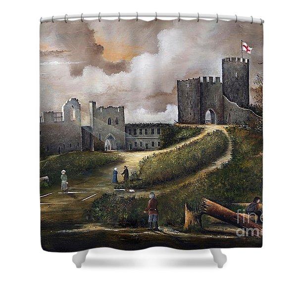 Dudley Castle 2 Shower Curtain