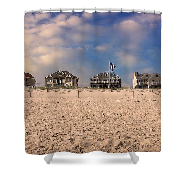 Dune Road Shower Curtain