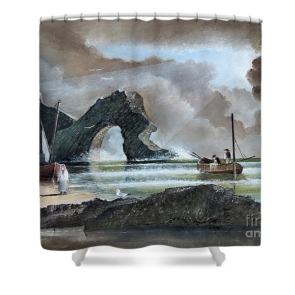 Durdle Door - Dorset Shower Curtain