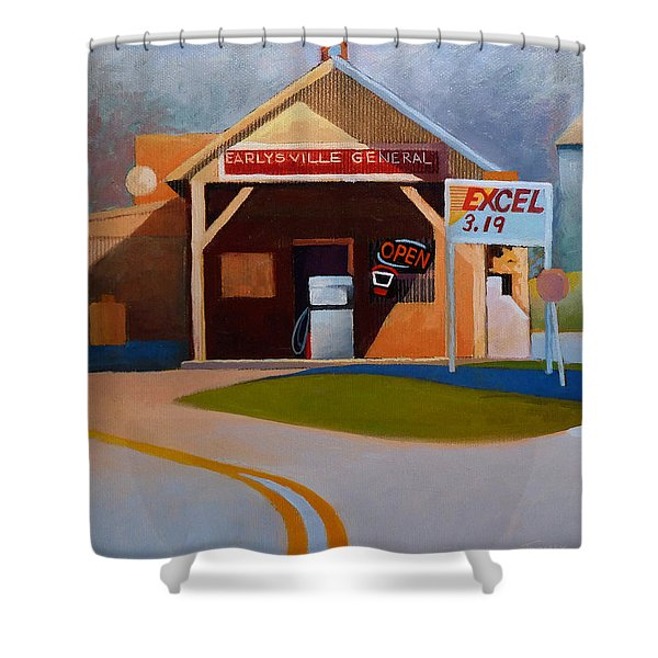 Earlysville General Store No. 2 Shower Curtain