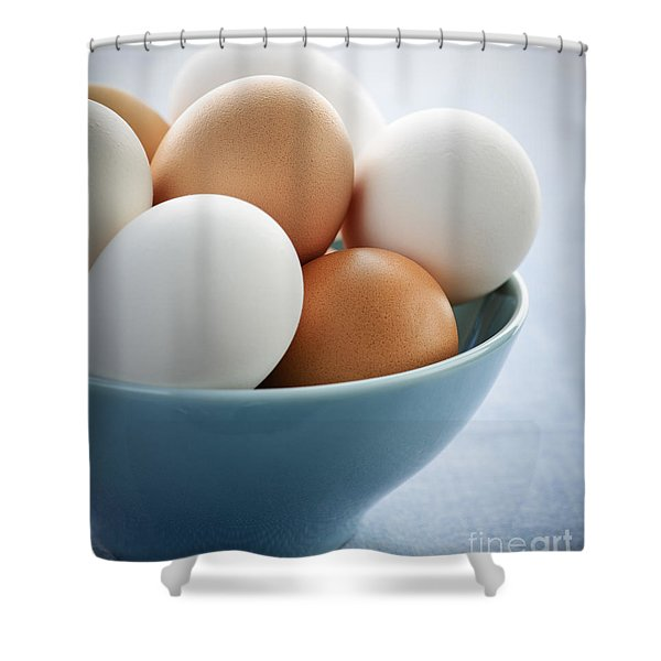 Eggs In Bowl Shower Curtain