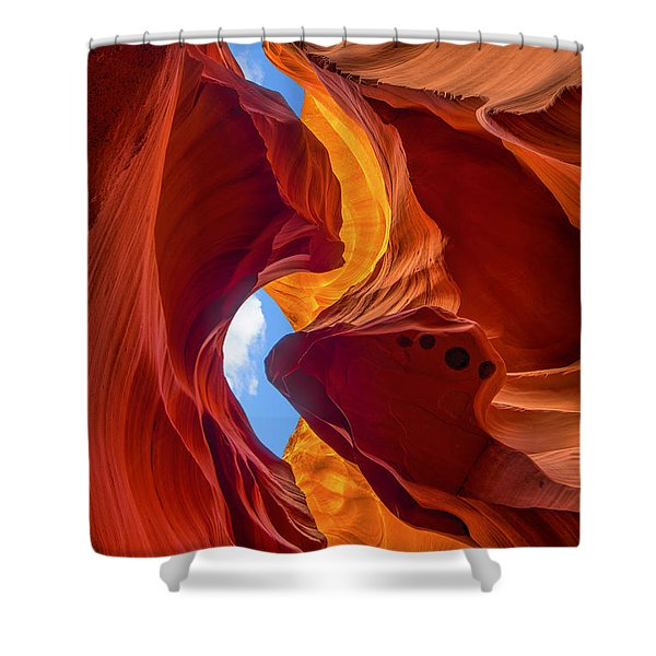 Enduring Beauty  Shower Curtain