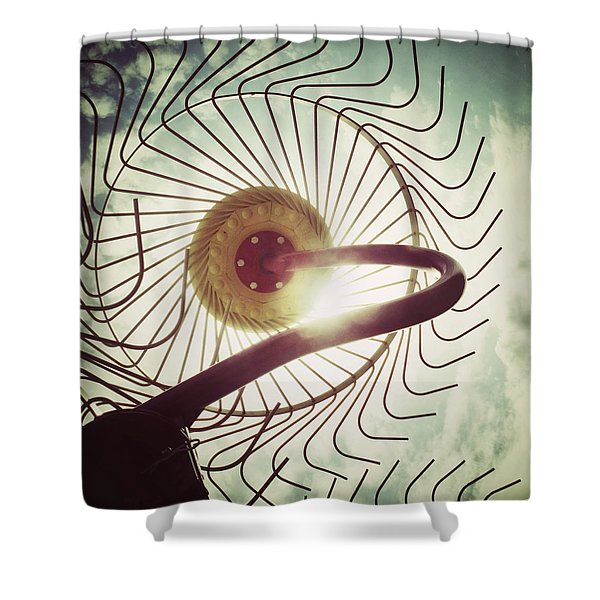 Eye Harvest Shower Curtain