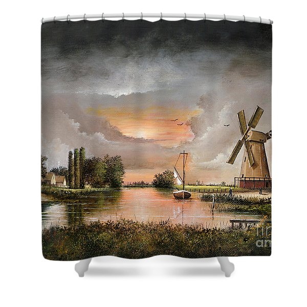 Fairhaven Mill Shower Curtain