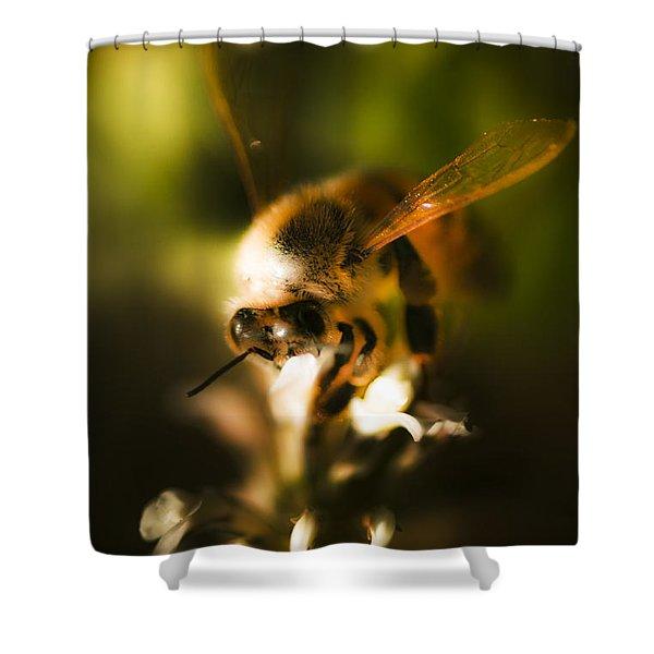 Fauna And Flora Meet Shower Curtain