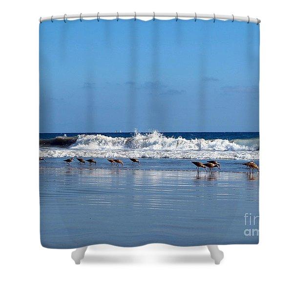 Feeding Time Shower Curtain