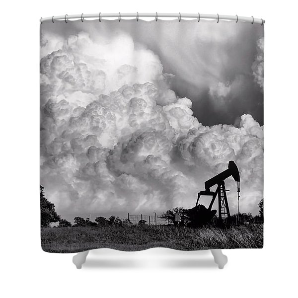 Field Of Nightmares Shower Curtain