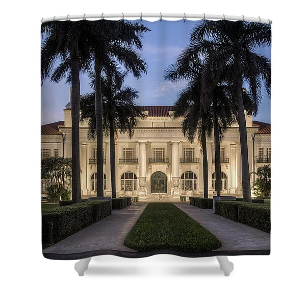 Flagler Museum Shower Curtain