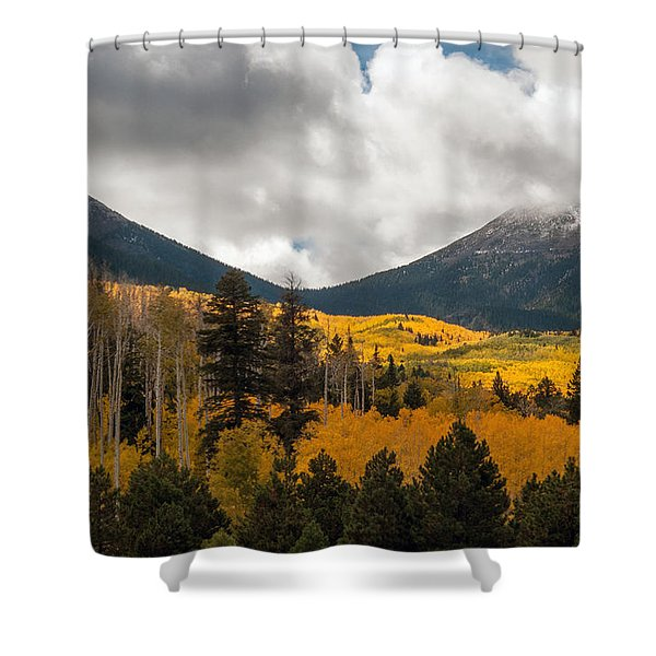 Flagstaff Fall Color Shower Curtain