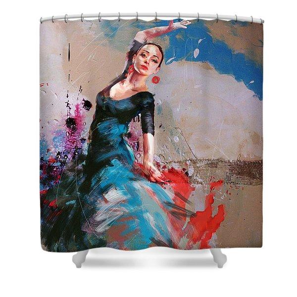 Flamenco 41 Shower Curtain