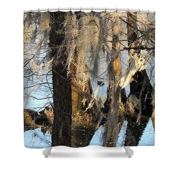 Flint River 36 Shower Curtain