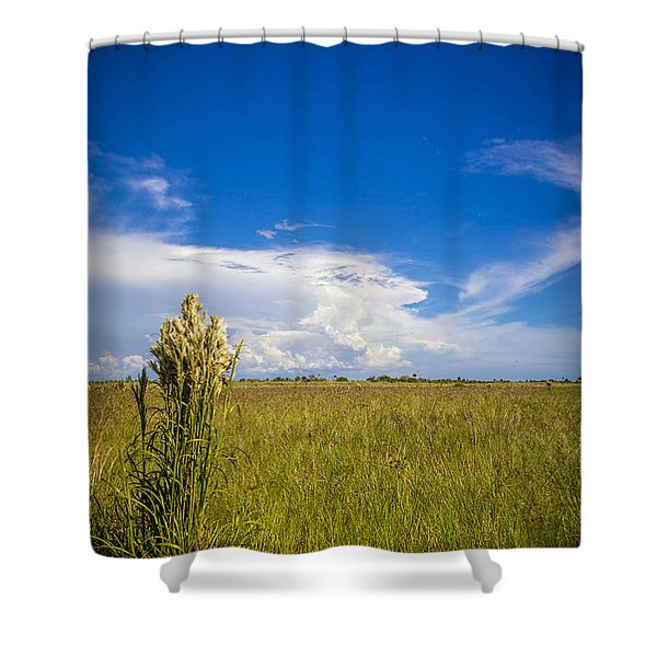 Florida Flat Land Shower Curtain