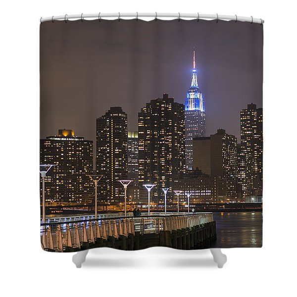 Gantry Nights Shower Curtain